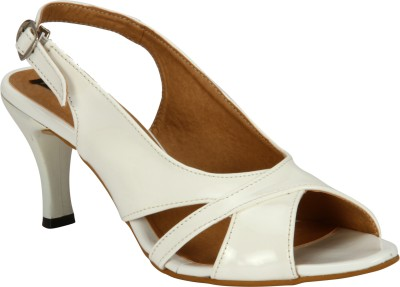 Welson Women White Heels