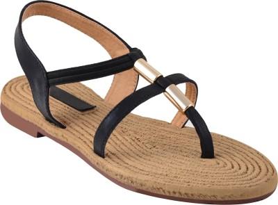 Shoestory Girls Black Sandals