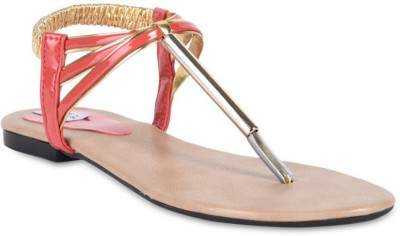Hilly Toe Women Pink Sandals