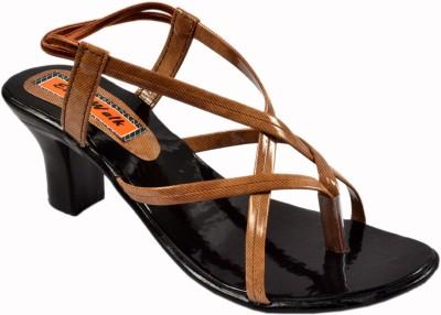 easy walk Women Brown Heels