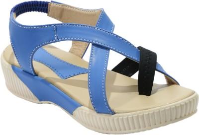 FashionPedia Women, Girls Blue Wedges