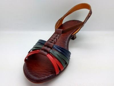 Spacial Women Multicolor Sandals