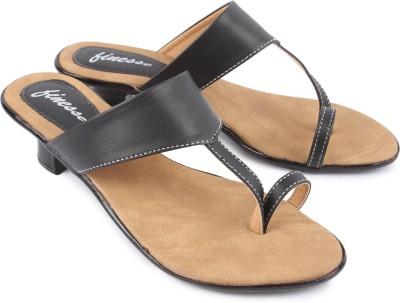 Finesse Women Black Heels
