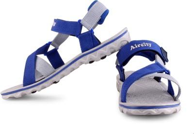Aircity Men Black, Grey Sandals