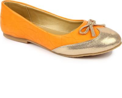 DANR Women Yellow Flats