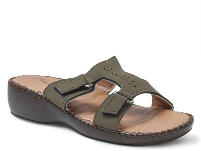 Action Shoes Florina Women Olive Flats