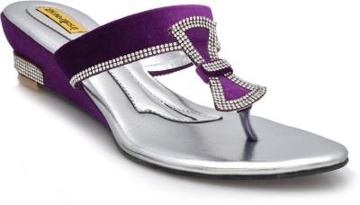 indirang Women Purple Wedges