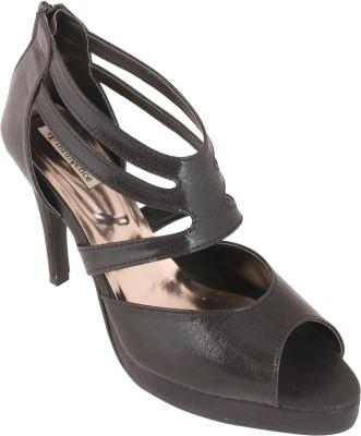 Indulgence Women Black Heels