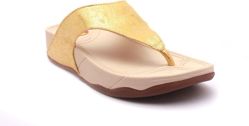Tycoon Women Gold Flats