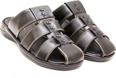 Canvera Men Black Sandals