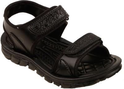 Hot Dog Boys Black Sandals