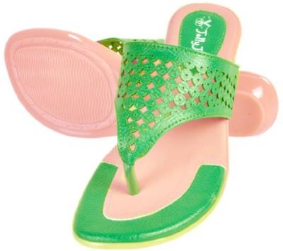 Jolly Jolla Isabelle Women Green Flats
