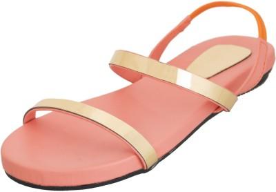 Advin England Women Pink Flats