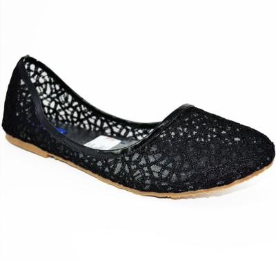 BLUE PARROT Women Black Flats