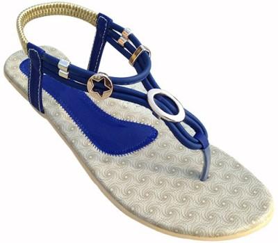 Muskan Women Blue Flats
