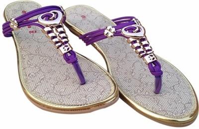 Muskan Women Purple Flats