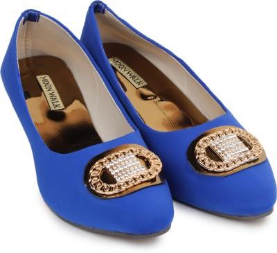 Moonwalk Women Blue Wedges