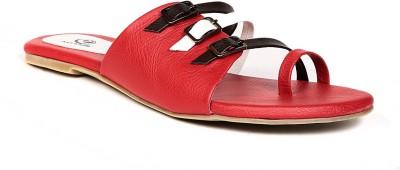 eAdams Women Red Flats