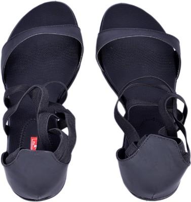 RED Bantus Women Black Heels