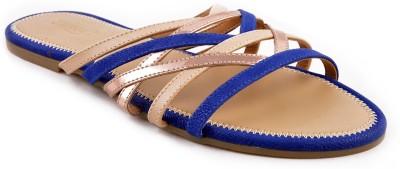 Zaera Women Blue Flats