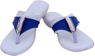 HITANSH INDIA Women White Flats