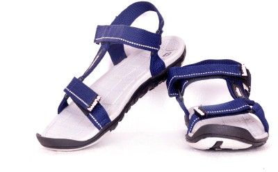 Goldstar Men Navy, Blue, White Sandals