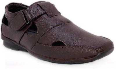 Chariot Men Brown Sandals