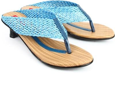 Finesse Women Blue Heels