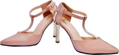The Shoe Closet Women Natural Heels