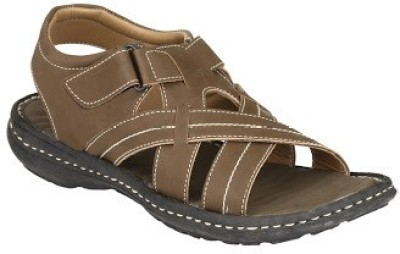 Jacs Shoes Men Olive Sandals