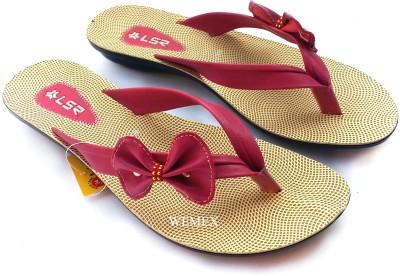Wemex Women Pink, Beige Flats