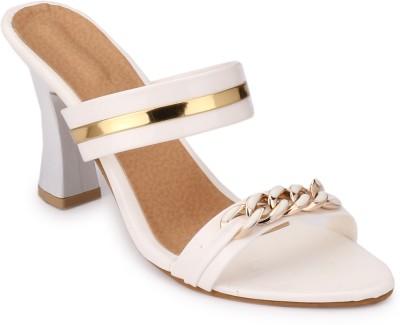 Koyka Women White Heels