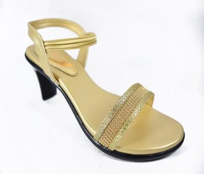 Multi Movin Women Gold Heels