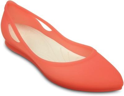 Crocs Women Orange Flats