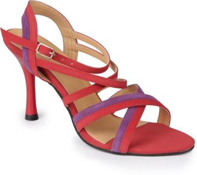 American Swan Women Red Heels