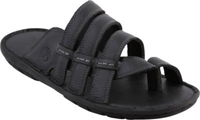 VENTOLAND Men Black Sandals