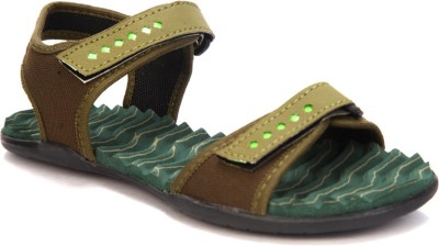 Laila Collections 818 Women Green Sports Sandals