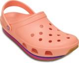 Crocs Men Melon/Vibrant Violet Sports Sa...