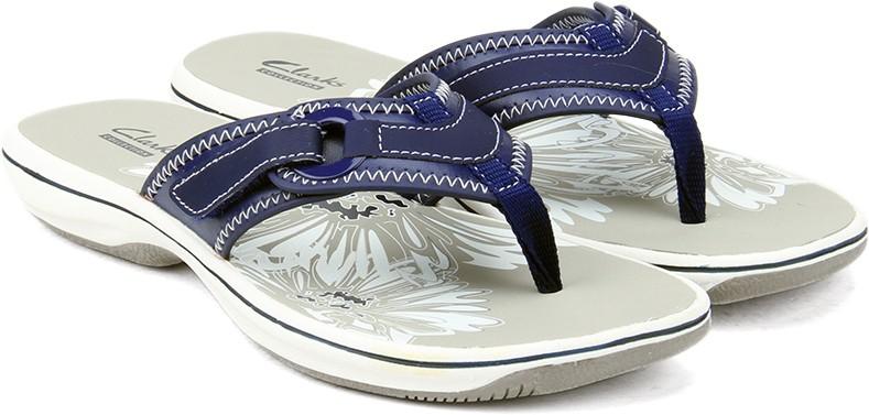 1b742f610259a3 Clarks Brinkley Mila Navy Women Sports Sandals