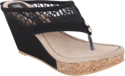 Modin Women Black Wedges