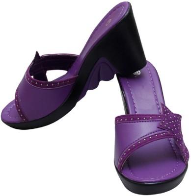 Gadget Women Purple Wedges