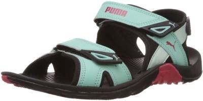 Puma Vesta SDL Wn s DP Women Black, Green Sports Sandals