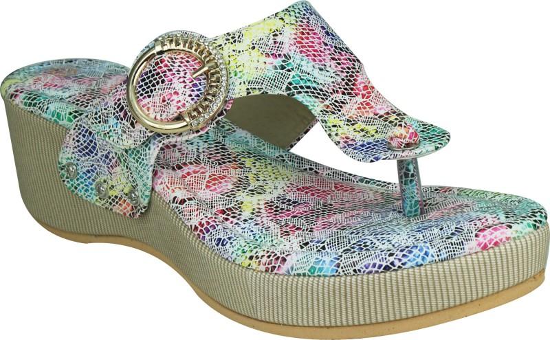 SMART TRADERS Girls Multicolor Sandals