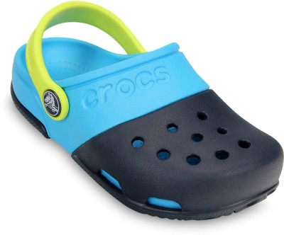 Crocs Baby Boys, Baby Girls Navy Sandals
