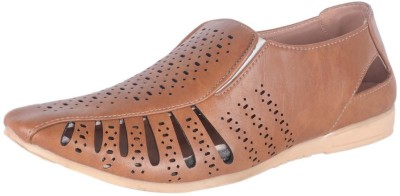 Vajazzle Men Brown Sandals