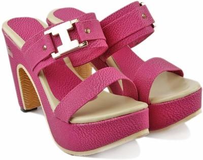 Jency Women Purple Heels