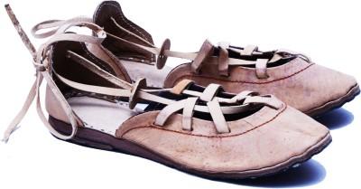 Manthana Women Brown Flats