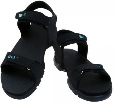 Ziesha Men Black, Blue Sandals