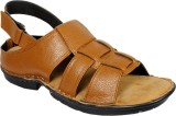 Footoes Men Tan Sandals