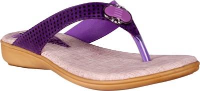 Angel Women Purple Flats